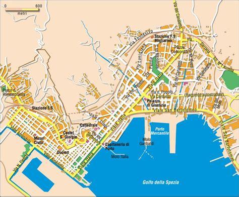 d italia la spezia mappa di la spezia cartina di la spezia