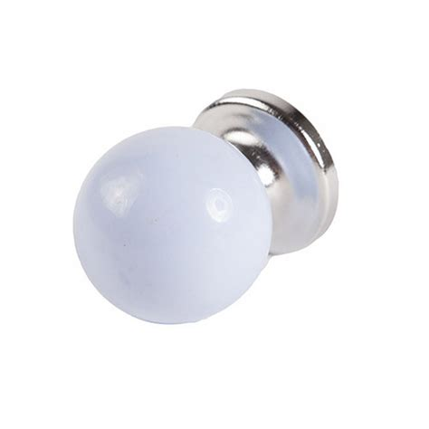 baby blue pastel coloured acrylic drawer door knob