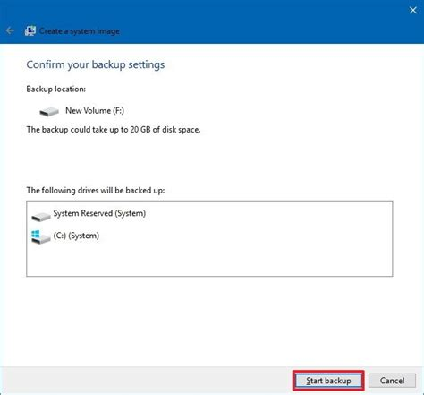 how to create backup of boot disk in windows 10