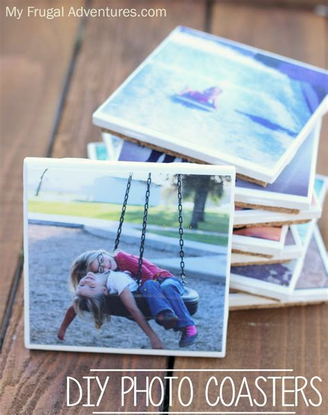 coasters diy easy instagram photo coasters perfect homemade gift idea my frugal adventures