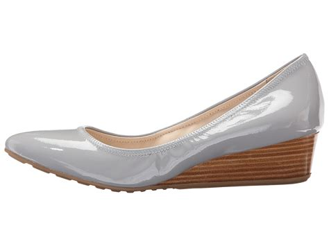 Slip On Tali Wedges cole haan tali luxe wedge 40 stormcloud suede zappos free shipping both ways