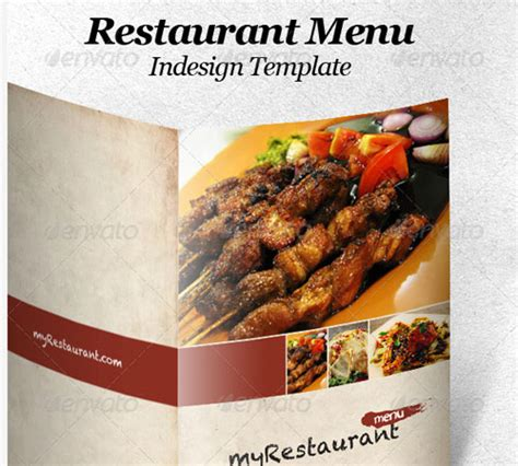 45 Creative Premium Brochure Template Designs 56pixels Com Indesign Restaurant Menu Template