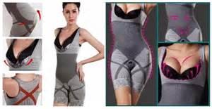 Bamboo Korset Pelangsing Badan Terpusat Tubuh bamboo slimming suit murah korset pelangsing badan h