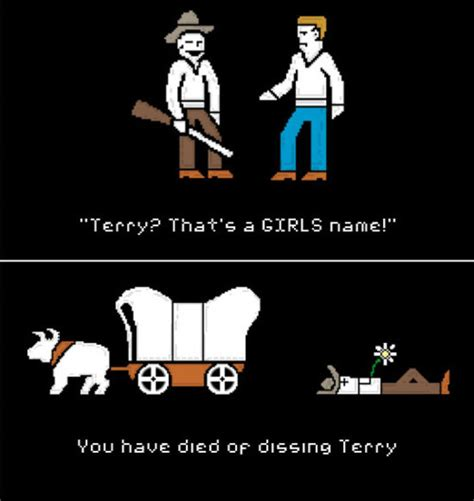 Oregon Trail Meme - dissing terry you have died of dysentery know your meme