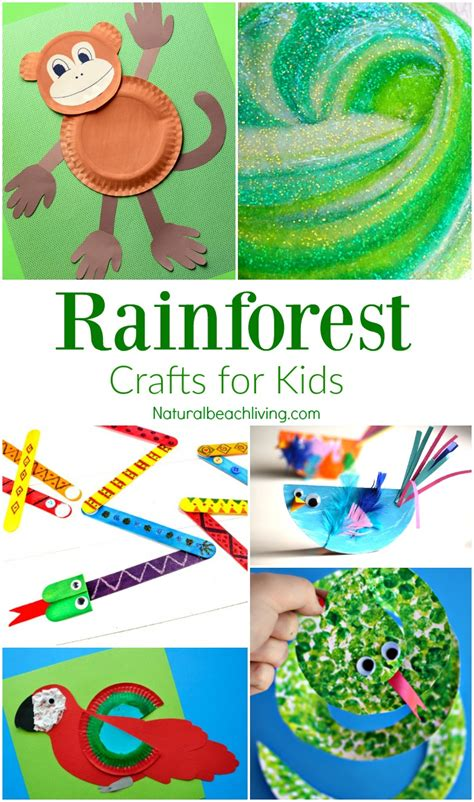 amazing crafts for 10 amazing rainforest crafts can make