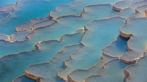 Pamukkale Thermal Pools by Pamukkale The Natural Rock Pools Of Turkey With Healing