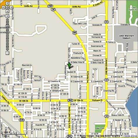 lakeland florida map fl orange blossom table tennis series map and directions