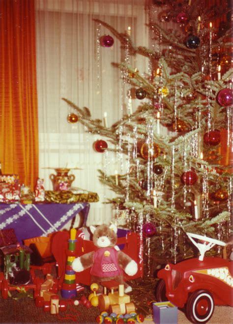 weihnachtsbaum mit lametta lametta