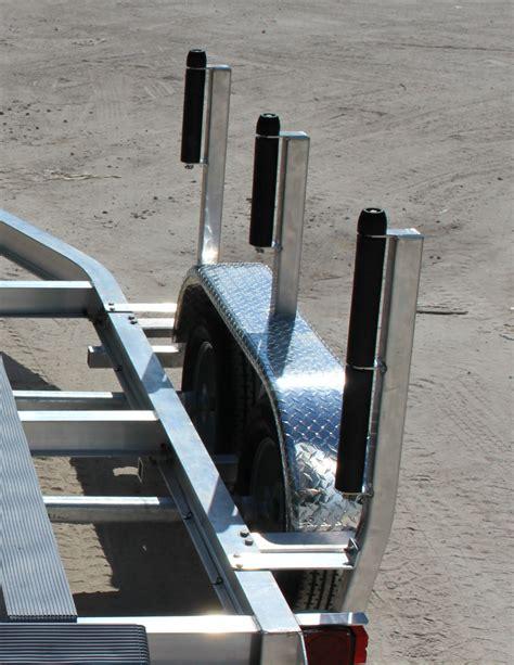 pontoon boat trailer rollers air boat trailer 2 5 quot black roller guides b s trailer