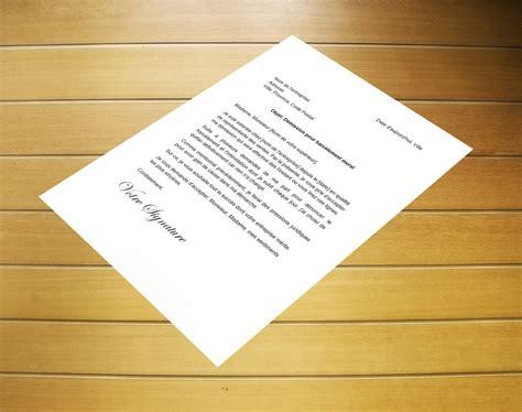 exemple lettre harcelement moral