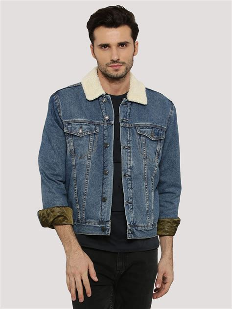 New Look Denim Jacket by Buy New Look Denim Jacket For S Blue Jackets