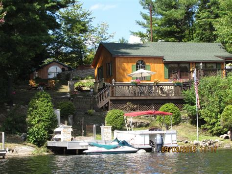 waterfront cottages for rent trout lake waterfront cottage in the vrbo