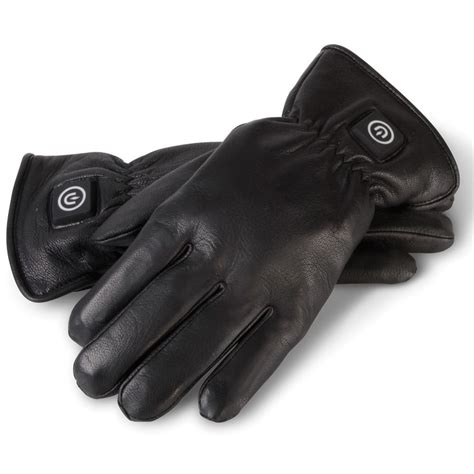 Heated Leather by The Gentleman S Heated Leather Dress Gloves Hammacher