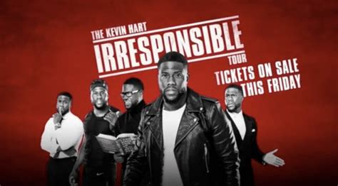 kevin hart tour the kevin hart irresponsible tour 2018 dates revealed