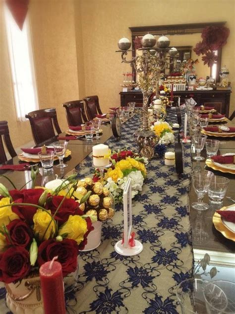bridal shower dinner table 10 best beauty and the beast bridal shower images on