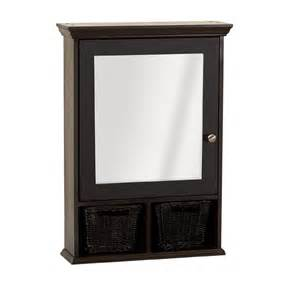 wicker medicine cabinet zenith products concave frame bevel mirrored 21 quot x 25