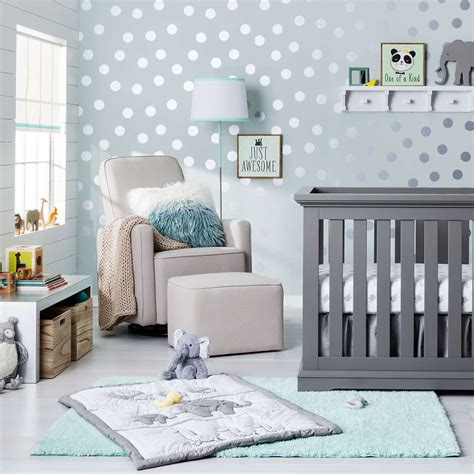 Nursery Ideas Inspiration Target Aqua Nursery Decor