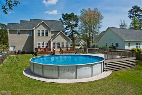 in ground pool ideas 22 amazing and unique above ground pool ideas with decks