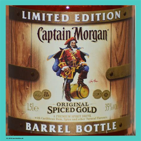 what goes with captain spiced rum captain original spiced rum limited edition barrel