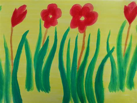cara membuat lukisan abstrak dengan cat air seni rupa seni rupa quot cara melukis dengan cat air quot