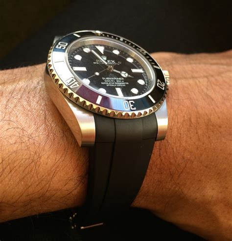 Rolex Yacthmaster Ii Two Tone Grade Aaa Review Of Reviewing The Rubberb For Rolex Submariner