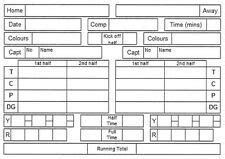 Rugby Match Report Template