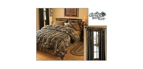 grand river lodge seclusion 3d 174 bedding collection cabela s