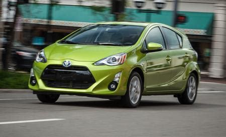 2015 Toyota Prius C Review 2015 Toyota Prius C Review Car And Driver