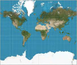 World Flat Map by Maps Are All Lies Representing A Spherical Earth On A
