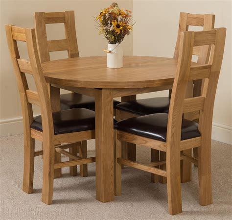 edmonton dining set 4 yale chairs oak furniture king