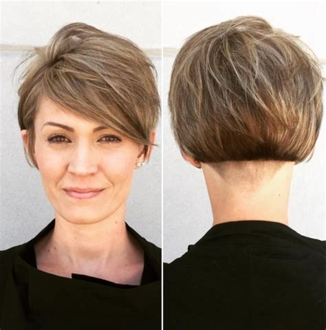 short layered hairstyles with short at nape of neck 50 cute and easy to style short layered hairstyles