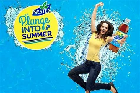 Nestea Sweepstakes - nestea plunge into summer sweepstakes sweepstakesbible