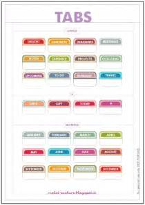 Tab Printing Template by 25 Best Ideas About Printable Tabs On Binder