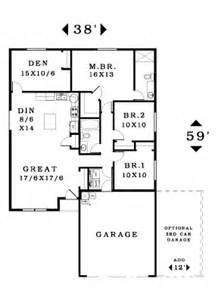 Single Story House Plans Without Garage by 1482 House Plan Information