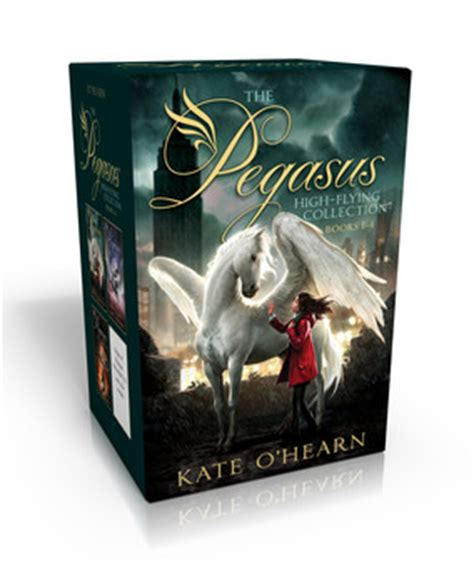 the pegasus mythic collection books 1 6 the of olympus olympus at war the new olympians origins of olympus rise of the the end of olympus books pegasus books by kate o hearn from simon schuster