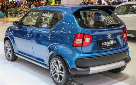 Spoiler Ignis With Colour suzuki showcases two new concepts of the ignis in