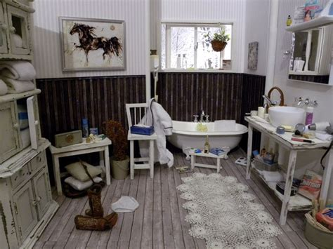 miniature dollhouse bathrooms 1000 images about bathrooms ba 209 os 1 12 on pinterest