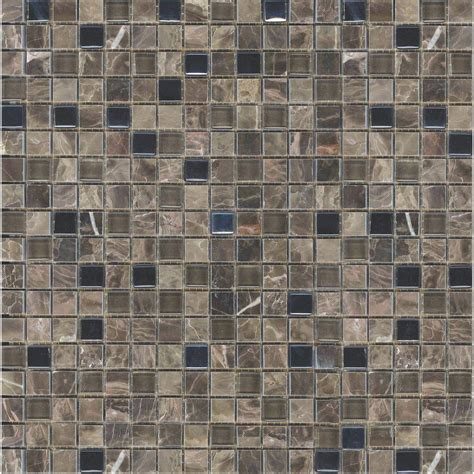 mosaic tile ms international flooring 12 in x 12 in ms international emperador cafe 12 in x 12 in x 8 mm