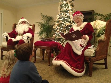 story time with santa and mrs claus mrs santa