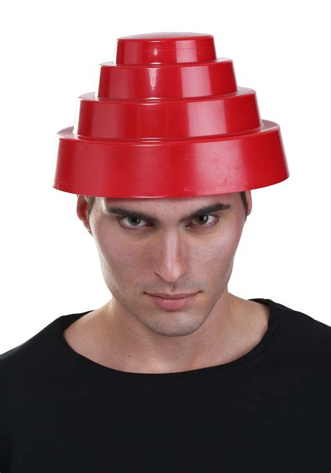 How To Make A Devo Hat Out Of Paper - devo whip it hat for adults