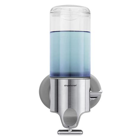 wall mount soap dispenser simplehuman wall mounted shoo soap dispensers the container store