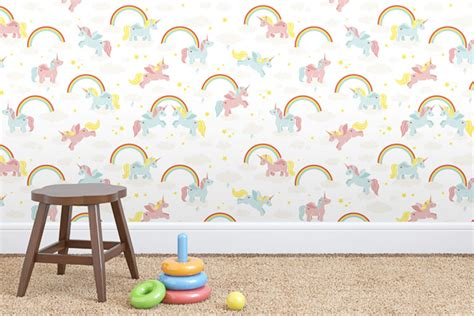 rainbow wallpaper for room 13 modern wallpapers for your child s room