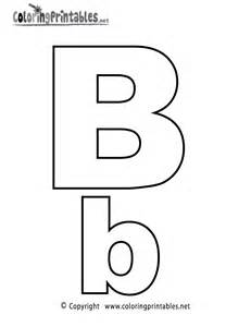 Letters b colouring pages