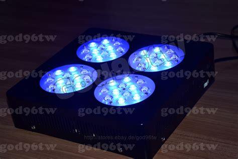 led len dimmbar new 1x 144w dimmable led aquarium tank light marine