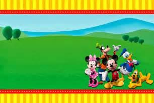 mickey mouse clubhouse birthday invitation birthday