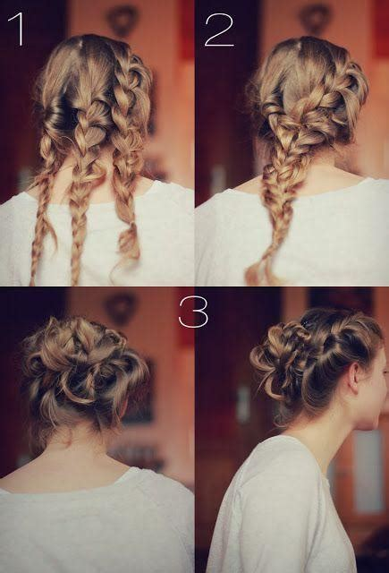 hairstyles in way three braid updo hairstyles how to