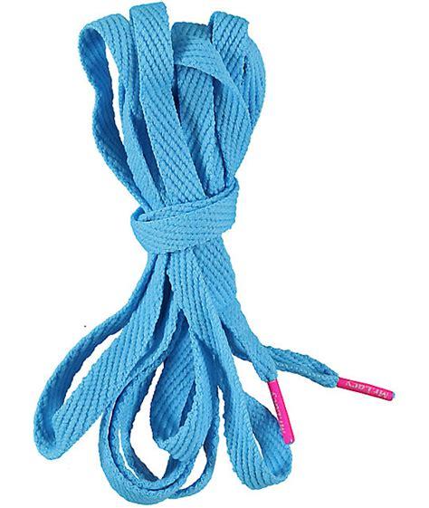 mr lacy flatties mellow blue neon pink shoe laces zumiez