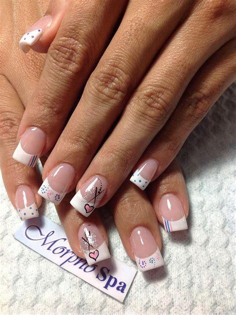 imagenes sobre uñas pintadas m 225 s de 25 ideas fant 225 sticas sobre manicura francesa de gel