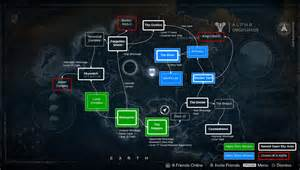 Map of venus from vg destinythegame