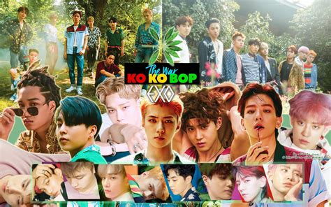 wallpaper exo kokobop k pop lover exo the war ko ko bop wallpaper